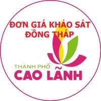 Đơn giá khảo sát tỉnh Đồng Tháp