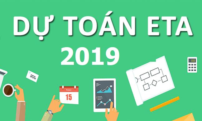 phần mềm dự toán Eta 2019